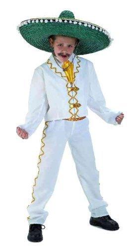 Disfraz Mejicano Lujo Infantil T. 4