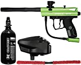 Action Village Kingman Spyder Victor Core Paintball Gun Package Kit (Gloss Slime)