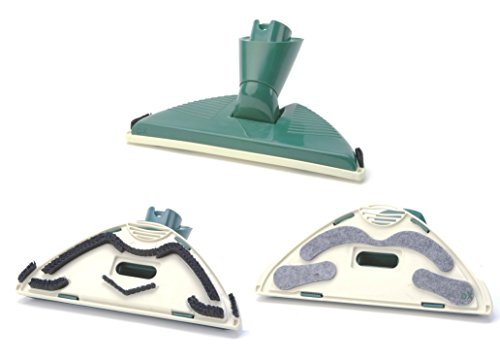 DREHFLEX - DUE79 - Bodendüse/Staubsaugerbürste/Staubsaugerdüse passend für Vorwerk-Geräte mit Ovalanschluss - Tiger 251 252 260 VT265 VT270