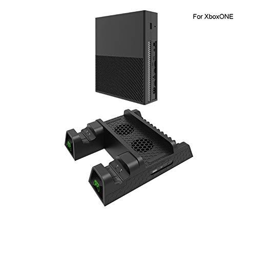 NO LOGO Doble Controlador de Base de Carga Xbox disipador de Calor Base Cargador de Soporte Vertical Ventilador de refrigeración for Xbox One/S/Accesorios XPro: Amazon.es: Hogar