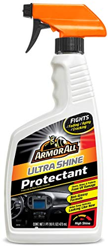 Armor All Interior Car Cleaner Spray Bottle, Protectant Cleaning for Cars, Truck, Motorcycle, Ultra Shine, 16 Fl Oz, 1751B
