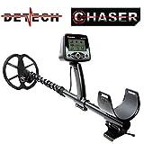 Detech Chaser 14kHz VLF Metal Detector con bobina da 9', sistema di batteria ricaricabile, con una...