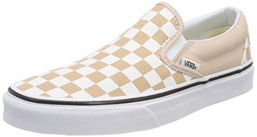 Vans Unisex-Erwachsene Classic Slip-on Slip On Sneaker, Beige (Checkerboard), 40 EU