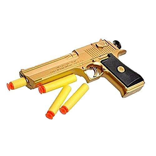 Sparare con una pistola è un'esperienza divertente, gratificante e positiva per i bambini piccoli. Include osservazione e resistenza, progettati per esercitare e abilità. Soprattutto nella fase a gironi, è anche molto interessante Le nostre pistole g...