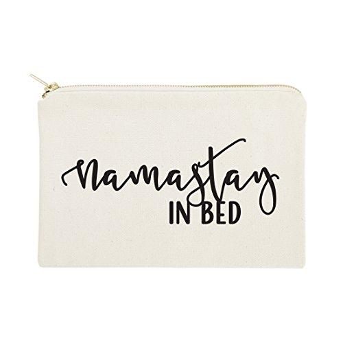 Die Baumwolle und Segeltuch CO. Kosmetiktasche und Reise Make Up Tasche Namastay in Bed