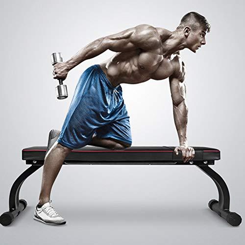 Hantelbank Trainingsbank Flachbank Fitnessbank Bankdrücken Bodybuilding Fitness