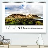 Island wo Elfen und Trolle zuhause sind (Premium, hochwertiger DIN A2 Wandkalender 2022, Kunstdruck in Hochglanz): Island von seinen schoensten Seiten (Monatskalender, 14 Seiten )