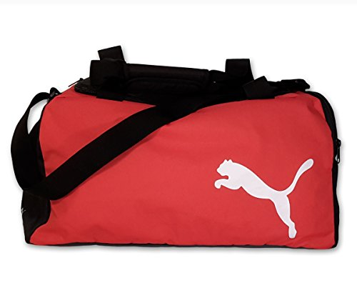 Puma borsa sportiva, Team Bag Small, Black/Puma Red, 45 x 24 x 24