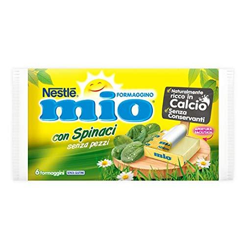 Nestlè Formaggino Mio Spinaci Käse mit Spinat Frischkäse reich Kalzium 125g
