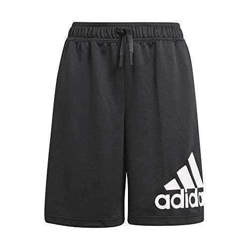 adidas D2M Big Logo Shorts Black/White 152