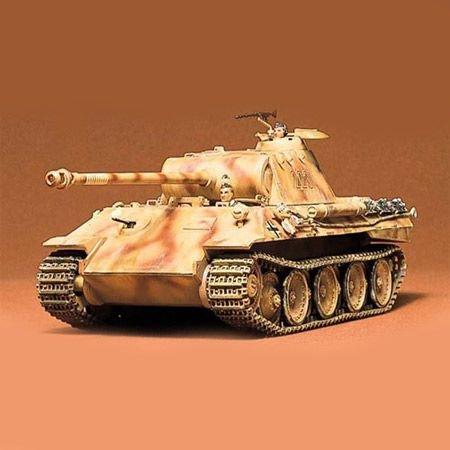 Tamiya Tanque Panther Aleman 1
