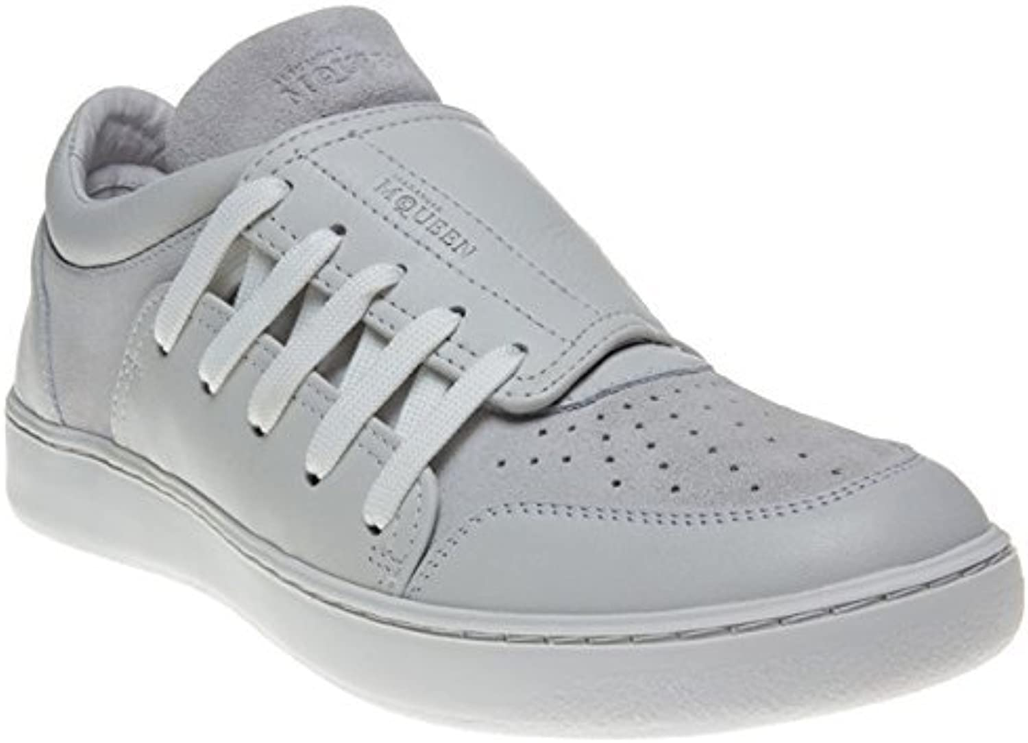 Alexander McQueen Men's Leather and Suede Trainers