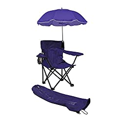 kids beach chair with adjustable umbrella