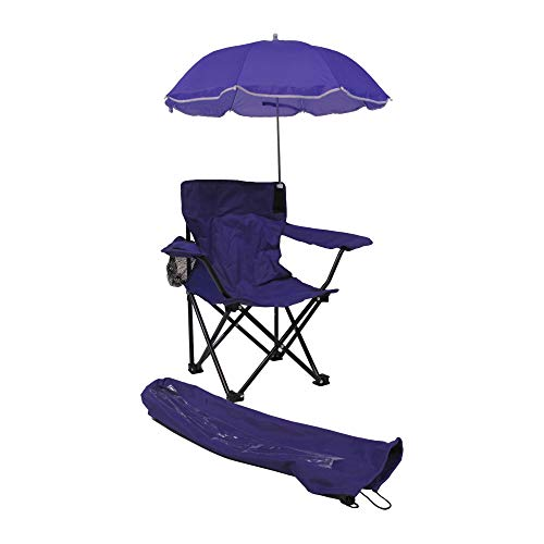 Kids Beach Baby Umbrella Camp Chair, Purple