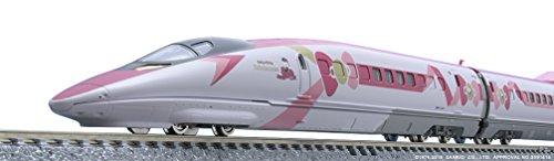 TomyTEC 986621 JR 500 7000, Serie Sany Shinkansen, Hello Kitty Modelleisenbahn