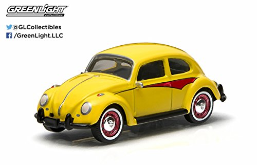 Motor World Volkswagen Classic Beetle (Yellow & Red) 2015 Series 13 German Edition 1:64 Scale Die-Cast Vehicle