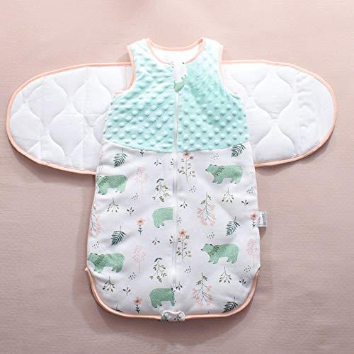 B/H Mantas de Bebes Recien Nacidos de niña,Saco de Dormir para bebé, Anti sobresalto, Paquete Multifuncional-I_M