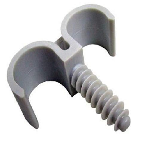 ING Fixations IGLA851445 - Juego de abrazaderas dobles para tubos (10 unidades,...