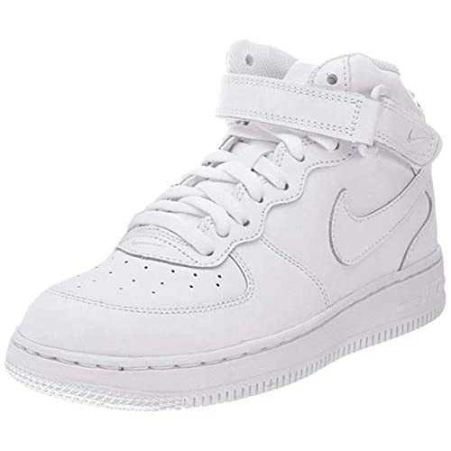 Nike Force 1 Mid (PS), Scarpe da Ginnastica Bambino, Bianco (White/White/White 113), 28 EU