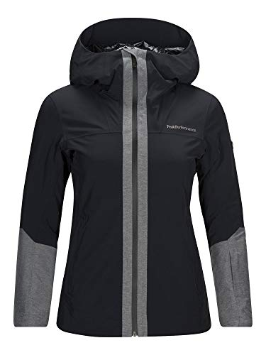 Peak Performance Damen Velcore Skijacke, Nero, M