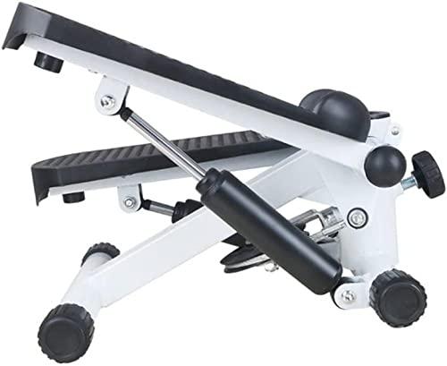 Feixunfan Stepping Machine Equipo de Fitness Silencio portátil multifunción Mini cinturón elástico Brazo de Trabajo Pedal Antideslizante para Principiantes y usuarios avanzados