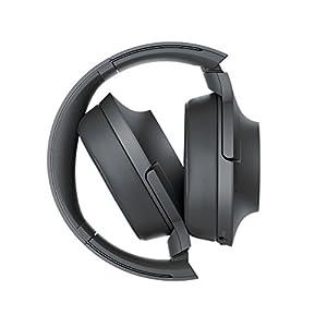 Sony - H900N Hi-Res Noise Cancelling Wireless Headphone Grayish Black Renewed