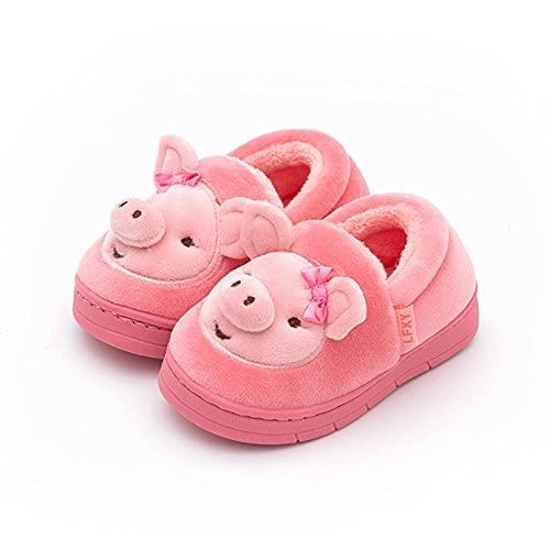 direction Zapatos de Piscina,Zapatos de algodón de Dibujos Animados Zapatos de algodón de Felpa cálidos para niños en el Interior-5_170 (15cm),Zapatos Minimalistas