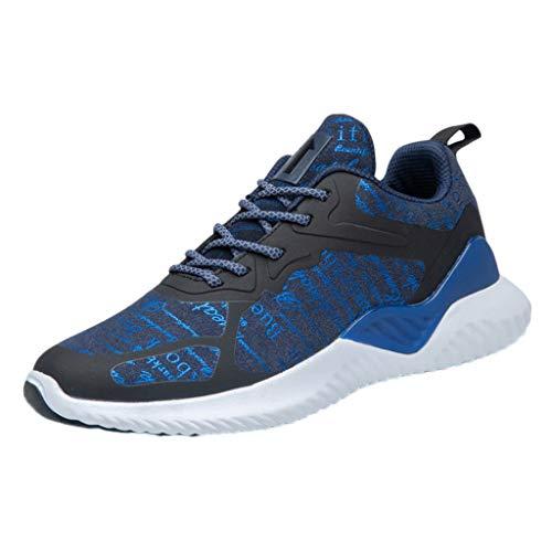 Zapatillas De Deporte Con Cordones, Calzado Casual Deportivo Antideslizante Resistente Al Desgaste Para Hombres Al Aire Libre Hombre Caminar Al Aire Libre Zapatos