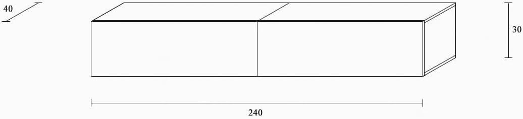 Wei/ß-Hochglanz//Lowboard H/ängeschrank H/ängeboard Wohnwand//Hochglanz /& Naturt/öne//Somero Wuun/® TV Board h/ängend//8 Gr/ö/ßen//5 Farben//160cm Matt Wei/ß