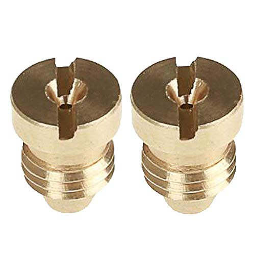 2pcs Brass Hose Nozzle Adapter Connector Replacement Nozzle Tip for High Pressure Wash Gun/Professional Foam/Foam Gun/Snow Lance Foam Sprayer