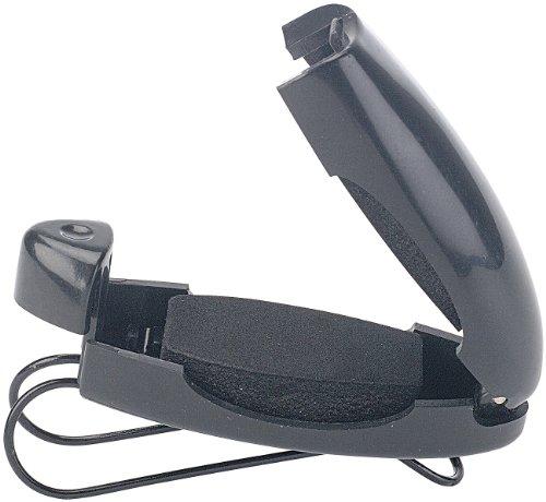 Lescars Brillenhalterung: Stabiler Kfz-Brillenhalter für Sonnen- oder Zweitbrille (Auto Brillenhalter)