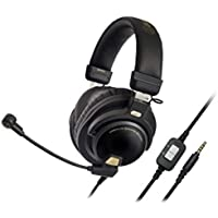 Audio-Technica ATH-PG1 Closed-Back Premium Gaming Headset with 6