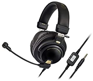 Audio-Technica ATH-PG1 Casque Gaming, Noir/Or (B00OTG9RJQ) | Amazon price tracker / tracking, Amazon price history charts, Amazon price watches, Amazon price drop alerts