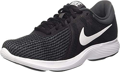 Nike Revolution 4, Zapatillas de Running para Mujer, Negro (Black/White-Anthracite 001), 42.5 EU