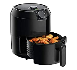 Easy-to-use air fryer for crispy and tasty fried food – no oil*, no fuss! Air Pulse Technology for crispy and healthy fried food cooked with little to no oil* XL 4.2L (six servings) capacity in a compact design – ideal for friends and family Four coo...