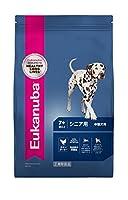 ユーカヌバ ドッグフード シニア用 中型犬用 7歳以上 チキン 2.7kg