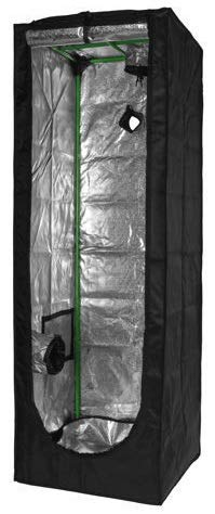 Herbgarden 60S Growbox Growzelt 60x60x140cm Zuchtzelt 0,6x0,6x1,4m Pflanzzelt