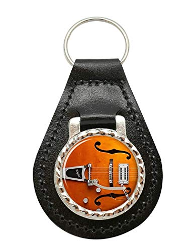 Gretsch Gitarre Leder Schlüssel Fob