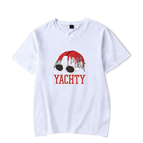 Landove Lil Yachty T-Shirt Korte Mouw Unisex Zomer