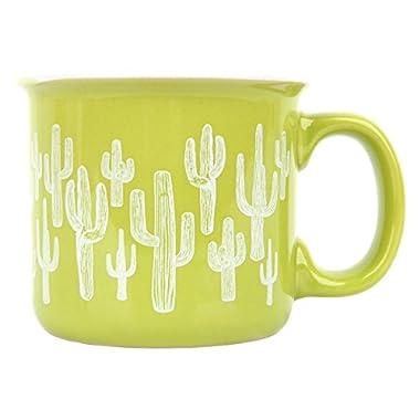 Karma Gifts Camp Mugs, Cactus