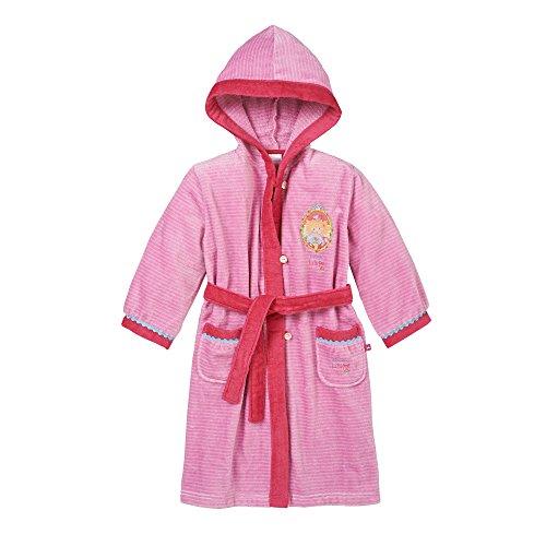 Schiesser Mädchen Bademantel, Rot (rosa 503), 92 (Herstellergröße: 092)