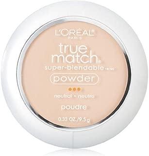 L'Oreal True Match Powder, Classic Ivory [N2], 0.33 oz (Pack of 3)