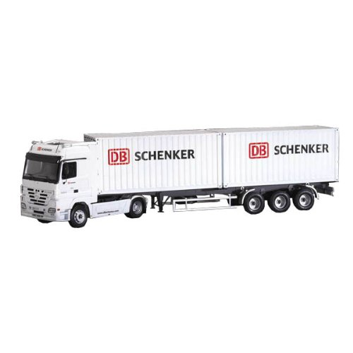 Italeri - I3865 - Maquette - Voiture et Camion - Actros Containers Schenker - Echelle 1:24