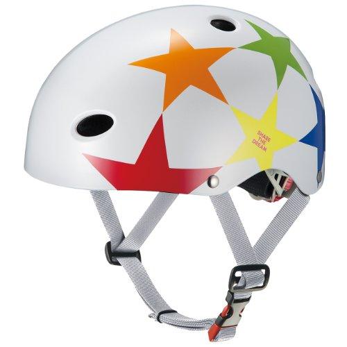 オージーケーカブト(OGK KABUTO) 自転車 ヘルメット 子ども用 FR-KIDS スターホワイト 幼児・児童用(頭囲:5...