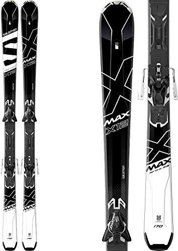 SALOMON X-Max X12 Ski - XT12 TI Bindung L39953400 Black/White 165 cm