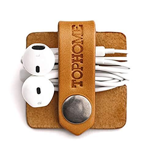 TOPHOME Cord Organizer Earbud Holder Earphones Headphones...