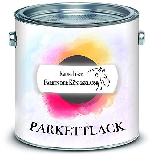 Parkettlack FARBENLÖWE Parkettpflege seidenmatt & glänzend Treppenlack farblos (Seidenmatt, 10 L)