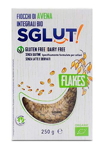 Sglut Fiocchi Avena Integrali Bio senza Glutine - 250 g