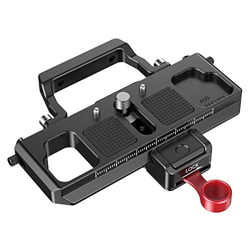 SMALLRIG Offset Plate Kit for BMPCC 4K and 6K Compatible with DJI Ronin S Zhiyun Crane 2 Moza Air 2 - BSS2403