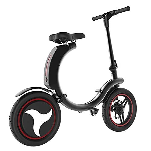 YYGG Patinete Eléctrico - Neumáticos de 14' - hasta 35 KM de Largo Alcance y 25 KM/H Scooter Portátil Plegable para Adultos con Doble Sistema de Frenado y Aplicación, IP76 Impermeable
